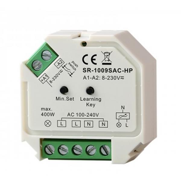 PROGRAMMABLE  RF DIMMER 220V 400W 1 CHANNEL