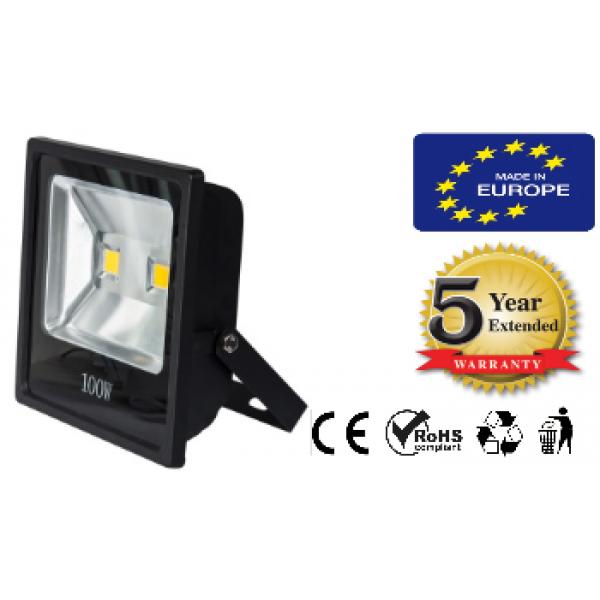 LED FLOODLIGHT 100W 90-260V SLIM