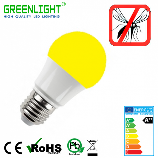 Led Bulb E27 4.8W 90-260Vac Anti-Mosquito