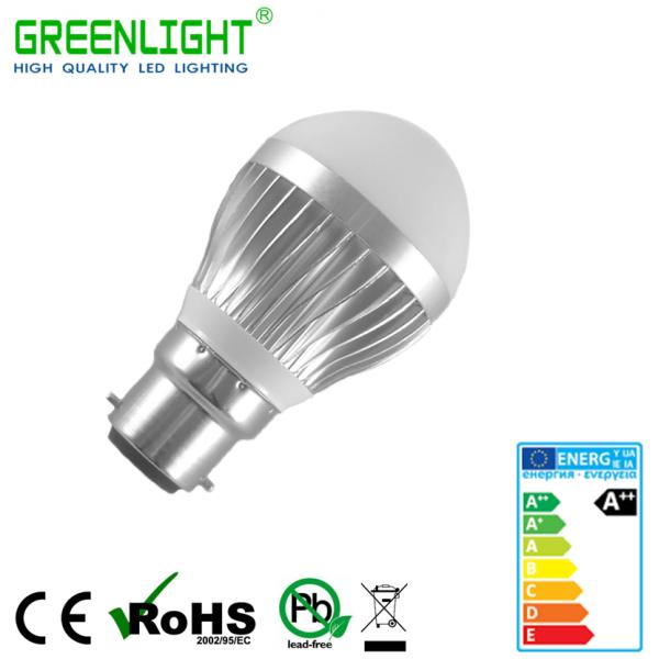 Led Bulb B22 3.9W 90-260Vac White