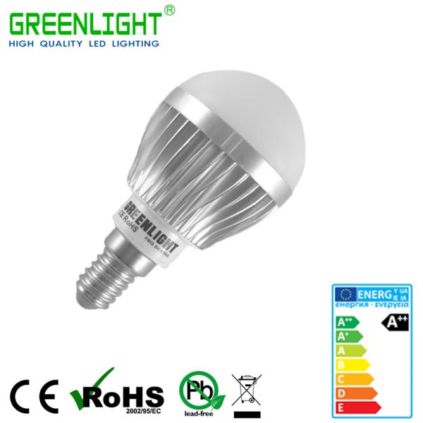 Led Bulb E14 4.8W 90-260Vac White