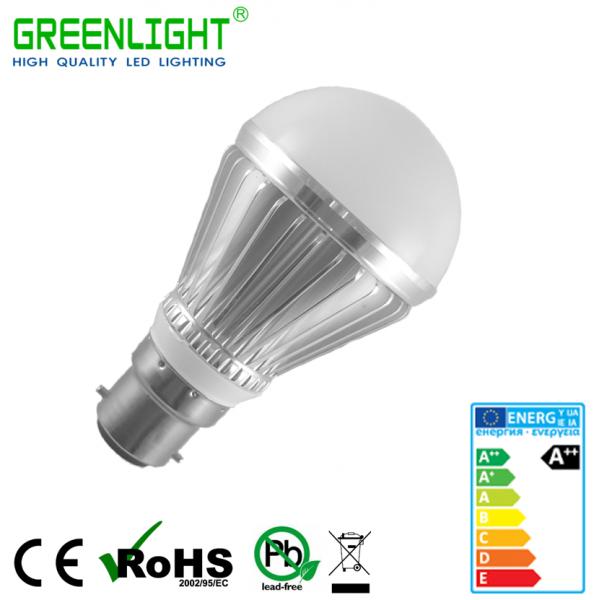 Led Bulb B22 4.8W 90-260Vac White