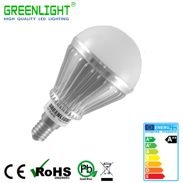 Led Bulb E14 4.8W 90-260Vac White