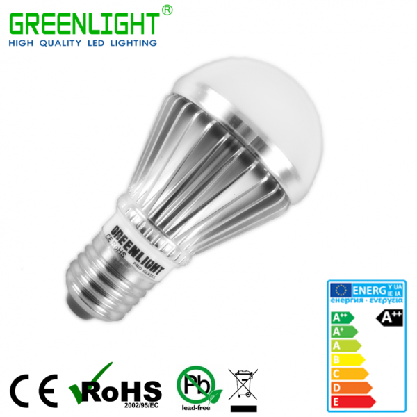 Led Bulb E27 5.9W 90-260Vac White