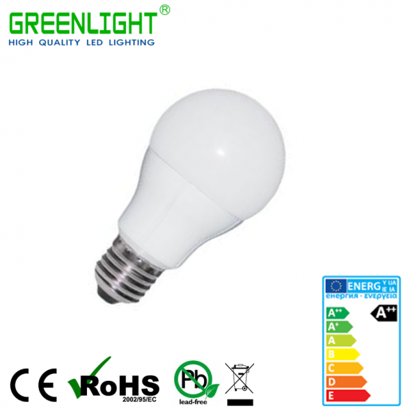 Led Bulb A60 E27 7W 220-240Vac White