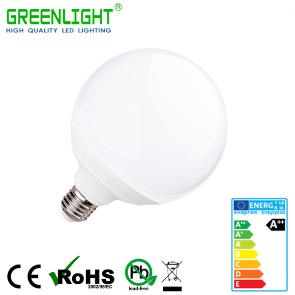 Led Bulb G95 E27 12W 220-240Vac White