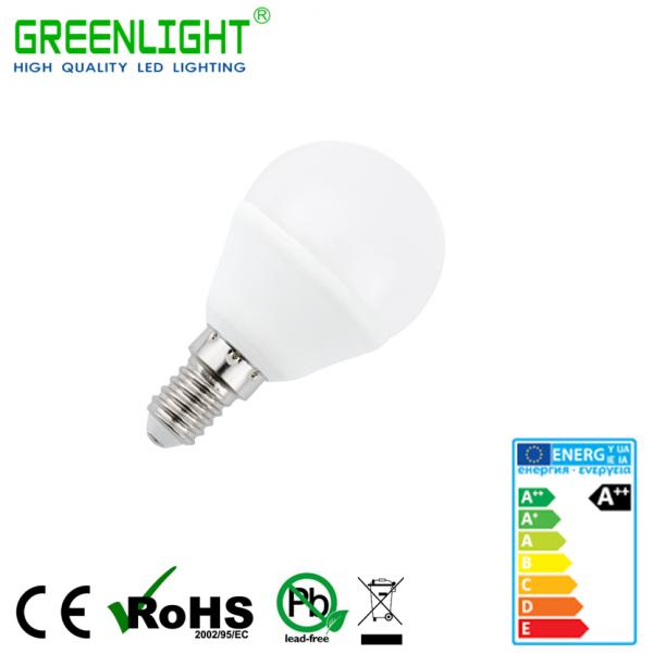 Led Bulb G45 E14 4W 220-240Vac White