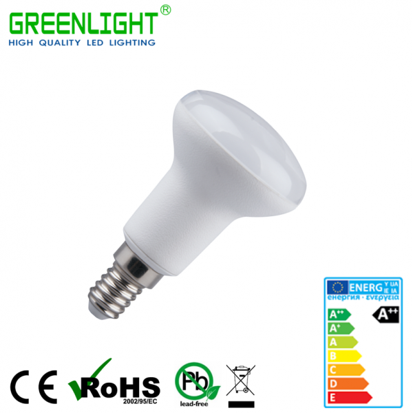 Led Bulb R50 E14 6W 220-240Vac White
