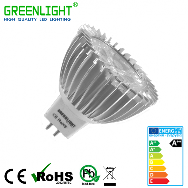 Led Spot MR16 3.9W 12VAc/Dc White