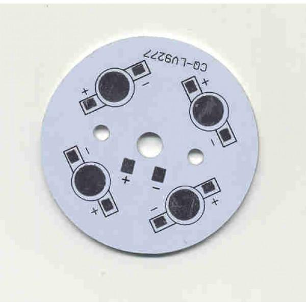 Bulb PCB 4x1W Aluminium