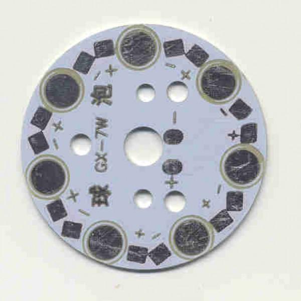Bulb PCB 7x1W Aluminium