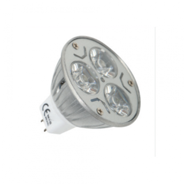 Led Spot MR16 3W 12Vac White